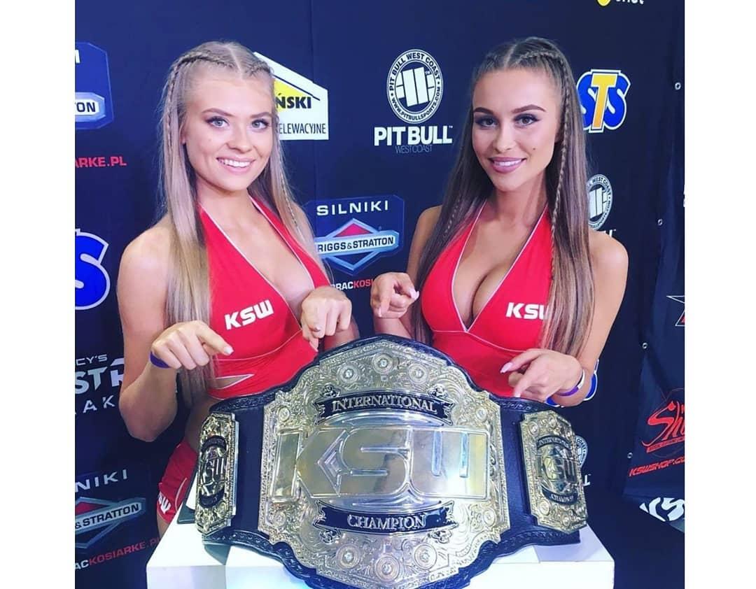KSW Ring Girls: Weronika Walenciak i Kasia Motłoch